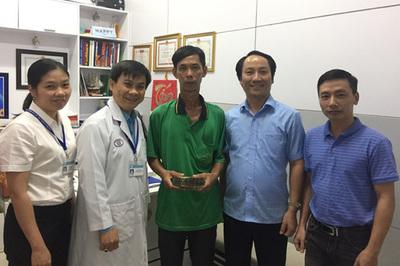 Em Nguyễn Tấn Cường nhận 120 triệu đồng chỉ sau 24 tiếng kêu gọi