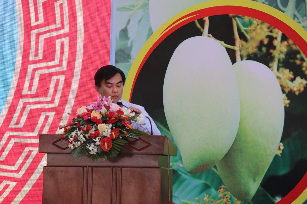 Xoài cát Hòa Lộc mời gọi đầu tư trên chuyến bay Vietnam Airlines