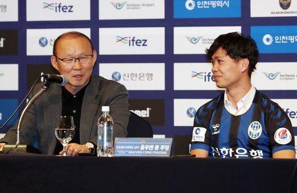 Công Phượng,Công Phượng ra mắt Incheon United,HLV Park Hang Seo,Incheon United,K-League