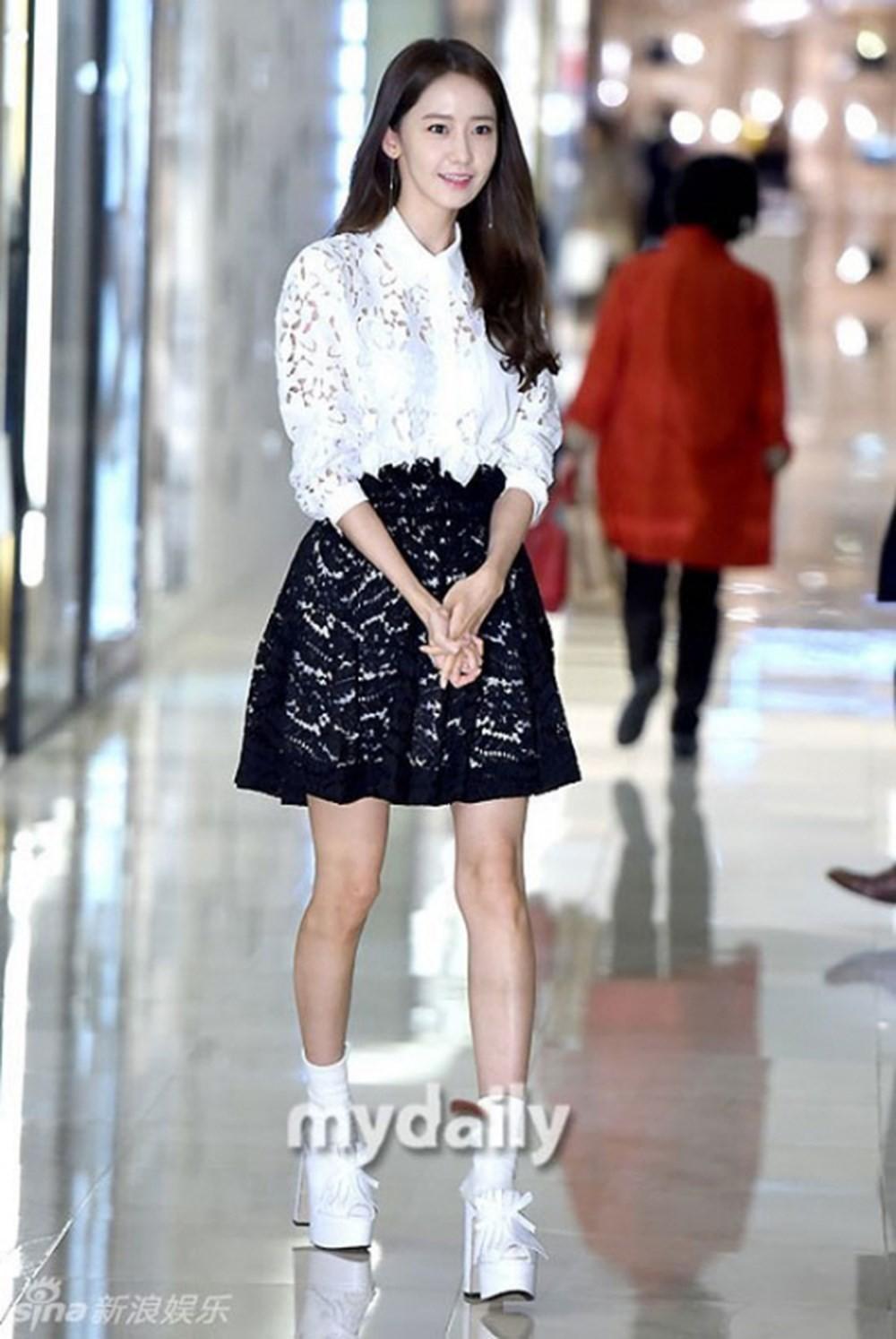 Được dân mạng xứ Hàn ưu ái đặt cho cái tên \u201cvisual quốc dân\u201d, ngay từ khi ra mắt Yoona đã có một thân hình mảnh mai.