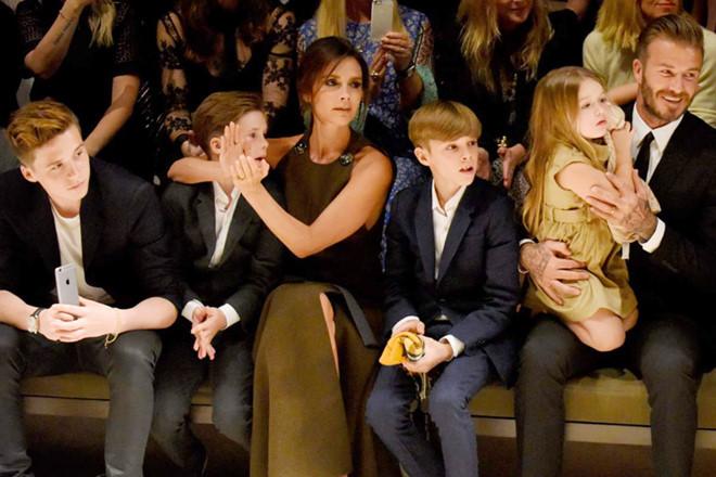 David Beckham không vui vì con gái 7 tuổi nhận được quà Valentine