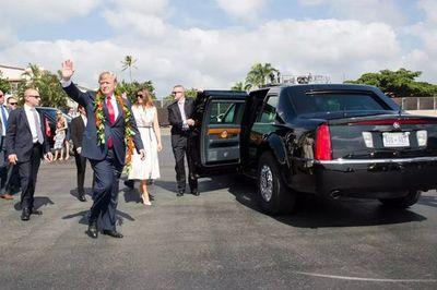 """Những điều thú vị về xe """"Quái thú"""" của ông Trump"""