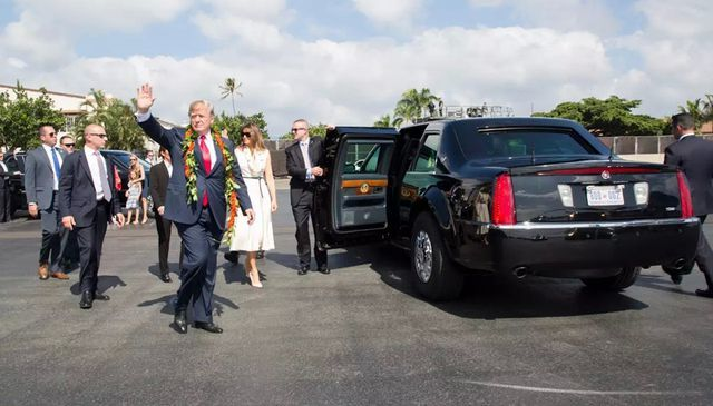 Những điều thú vị về xe 'Quái thú' của ông Trump