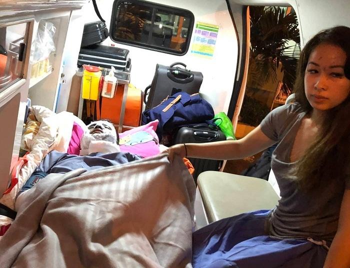 Việt kiều kể phút bị 2 kẻ bịt mặt tạt axit, cắt chân trong đêm