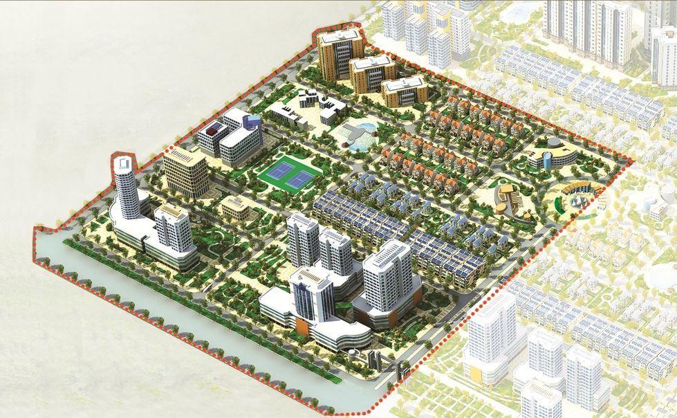 Khu đô thị mới Quế Võ,Bắc Ninh,khu đô thị