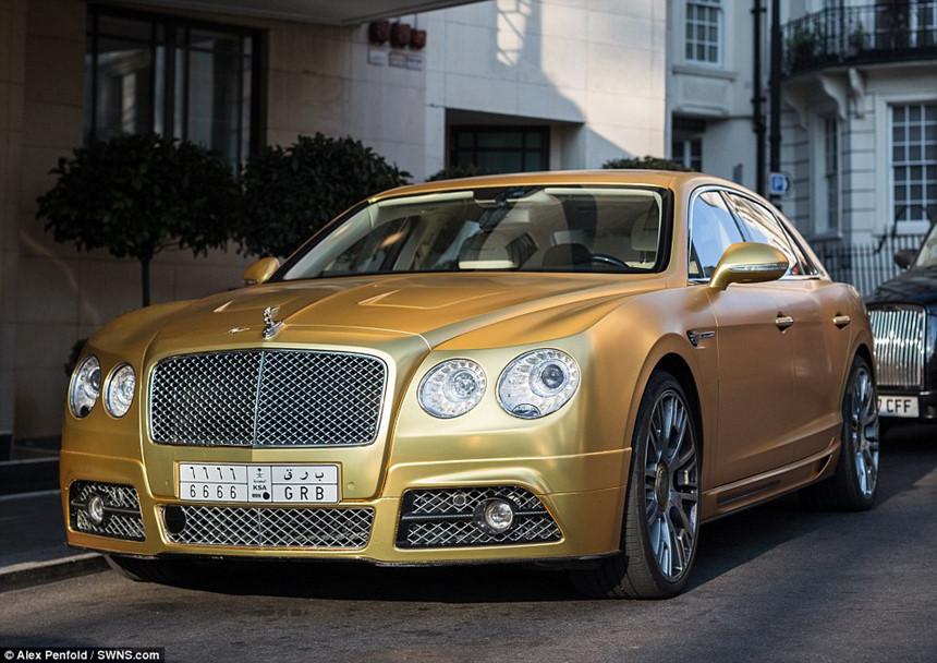 Siêu xe mạ vàng, thú chơi hào nhoáng của giới nhà giàu