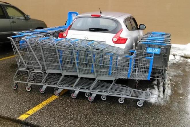 Những kiểu đỗ xe khiến người khác phát điên