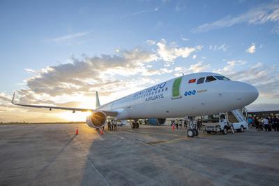 Sắp có thêm 4 đường bay Bamboo Airways đến Vinh