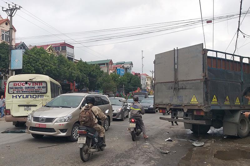 va chạm giao thông
