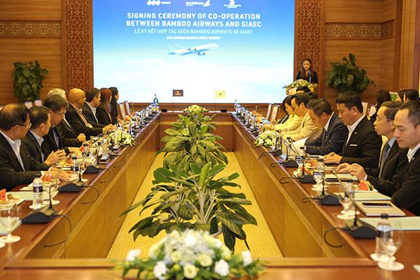 Bamboo Airways 'bắt tay' công ty kỹ thuật hàng không hàng đầu
