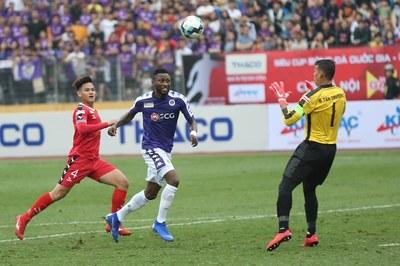 Video bàn thắng Hà Nội FC 2-0 B.Bình Dương