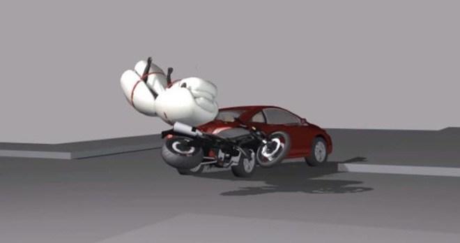 Túi khí cho xe máy, tại sao không?