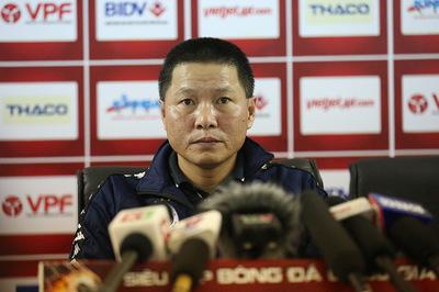 """HLV Chu Đình Nghiêm: """"Hà Nội không e ngại Shandong Luneng"""""""