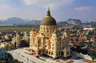 Lâu đài hoành tráng như trong truyện cổ tích của đại gia Ninh Bình