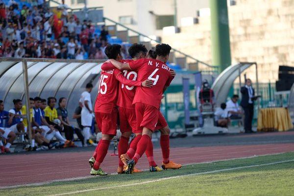 Video bàn thắng U22 Việt Nam 2-1 U22 Philippines