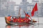 Tưng bừng lễ hội Bơi chải Thuyền rồng Hà Nội mở rộng 2019