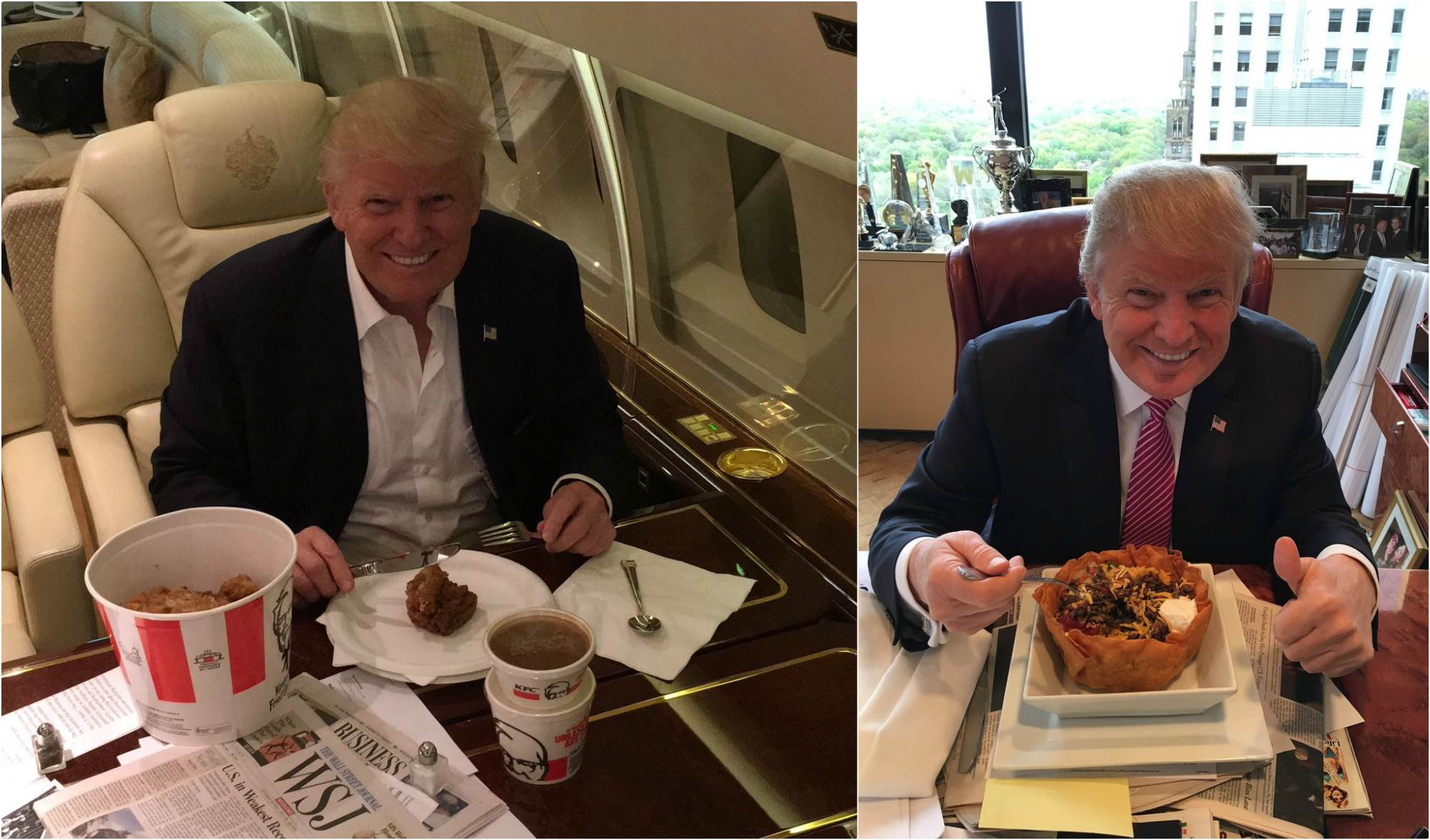 Món khoái khẩu của ông Trump và các đời tổng thống Mỹ