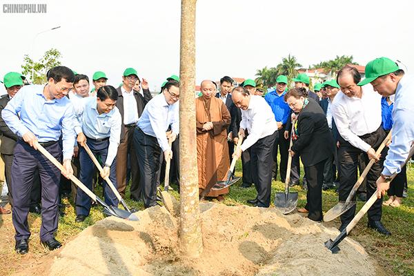 Thủ tướng,Nguyễn Xuân Phúc,Tết trồng cây