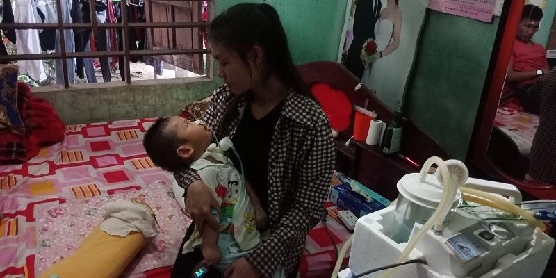 hoàn cảnh khó khăn,bại não,di chứng bại não,bệnh hiểm nghèo,từ thiện vietnamnet