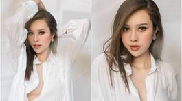 Nhan sắc bạn gái hot girl kém 8 tuổi của diễn viên Anh Tuấn
