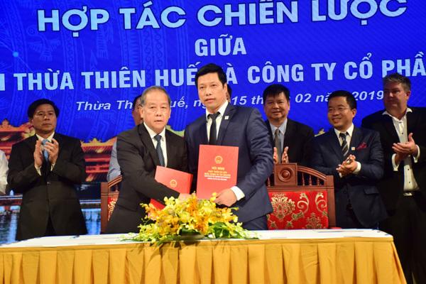 Văn Phú-Invest thành đối tác chiến lược của Thừa Thiên - Huế