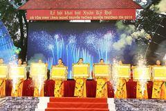 Làng nghề Thường Tín chọn 5 'chữ vàng' khai bút đầu xuân