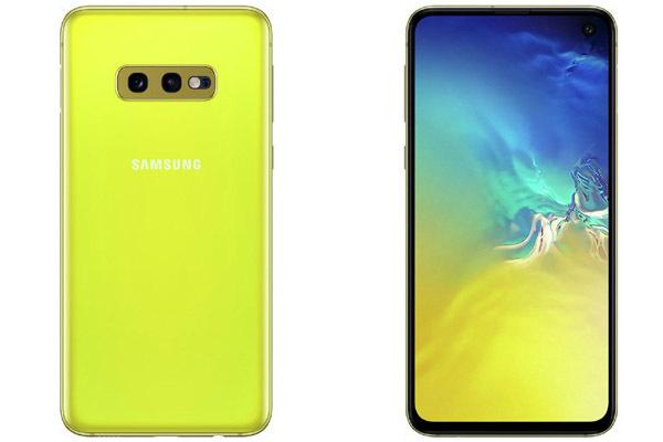 Galaxy S10 sẽ có màu vàng tươi, cạnh tranh với iPhone Xr