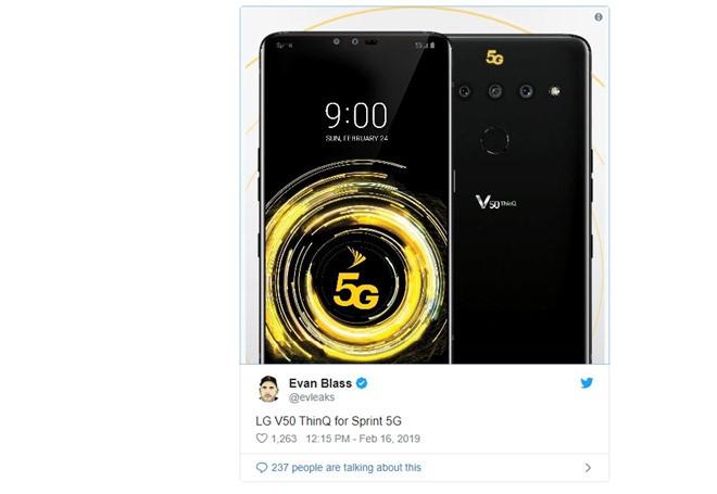 Smartphone 5G,LG G8,điện thoại LG