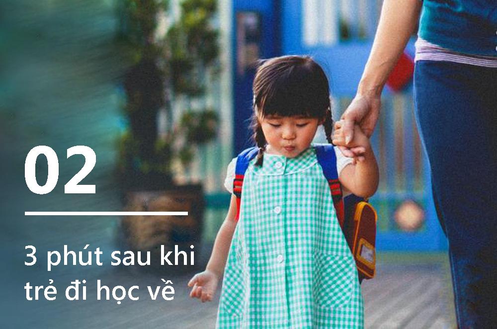 9 phút quan trọng nhất trong một ngày của mọi đứa trẻ