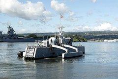 Tàu săn ngầm không người lái đầu tiên trên thế giới