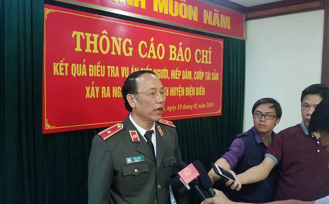 Tướng công an lý giải việc khai quật thi thể nữ sinh giao gà bị giết