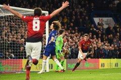 Xem video bàn thắng Chelsea 0-2 MU