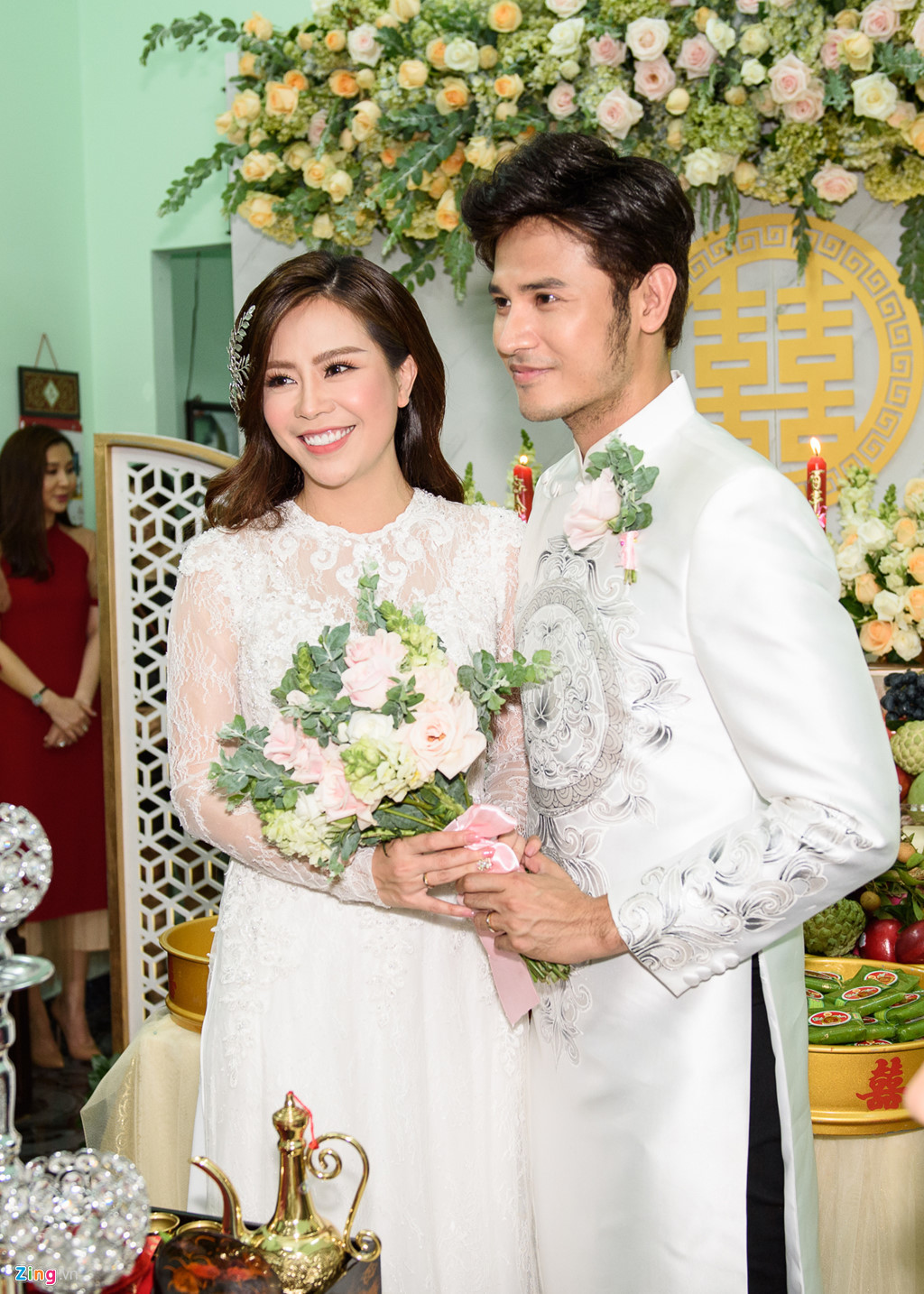 Dàn sao Việt vui nhộn trong lễ rước dâu diễn viên 'Gạo nếp gạo tẻ'