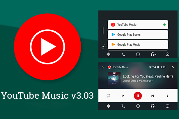 YouTube,Android Auto