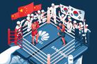 Samsung tận dụng mối lo ngại Huawei để chiếm lĩnh thị trường