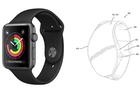 Apple Watch màn hình cong có thể hiển thị thông tin trên cả dây đồng hồ