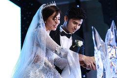Anh Tài ngọt ngào hát tặng Ngọc Ánh trong tiệc cưới