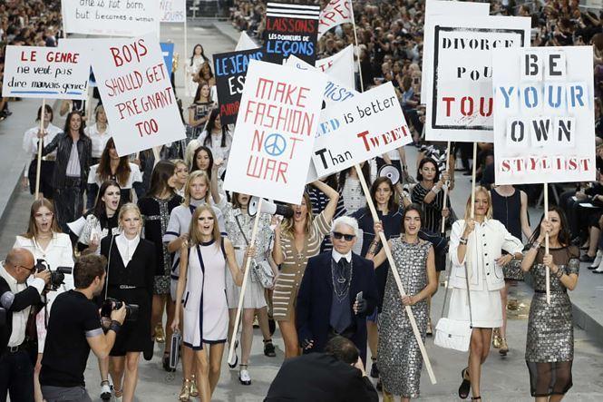 Sự khác biệt, sáng tạo không ngừng là bí quyết thành công củaKarl Lagerfeld.