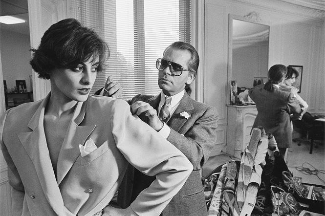 Từ những năm 1970,Karl Lagerfeld đã gây tiếng vang.
