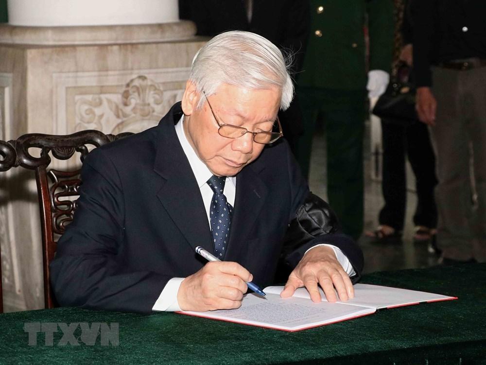 Hình ảnh xúc động tại lễ tang nguyên Phó Chủ tịch QH Nguyễn Phúc Thanh