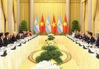 Việt Nam và Argentina ký kết nhiều văn kiện hợp tác