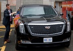 Siêu xe 370 tỷ an toàn tuyệt đối cho Tổng thống Trump