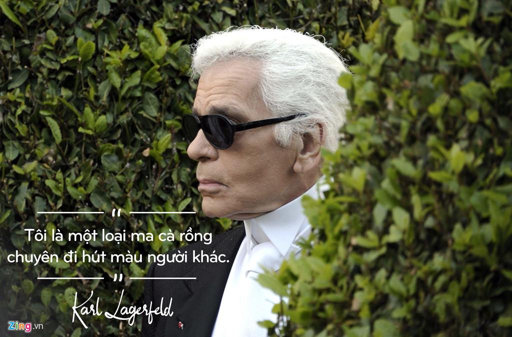 Karl Lagerfeld từng khẳng định: 'Với thời trang, tôi là kẻ cuồng dâm'