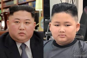 Cậu bé Hà Nội giống hệt Chủ tịch Triều Tiên Kim Jong-un