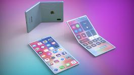 Hình ảnh siêu đẹp về mẫu iPhone nắp gập của Apple