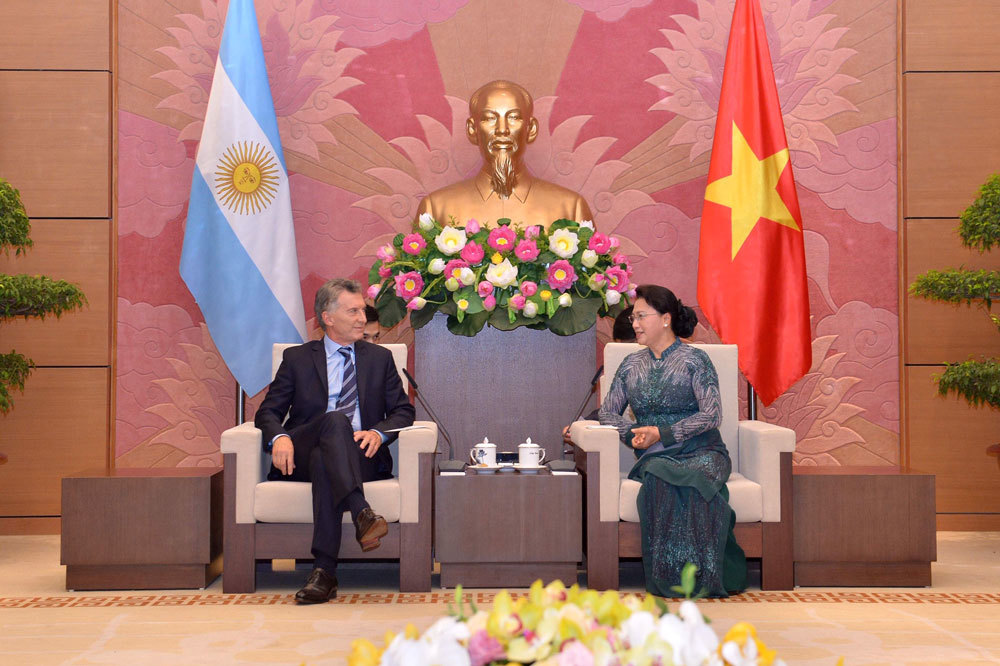 Chủ tịch Quốc hội,Nguyễn Thị Kim Ngân,Argentina