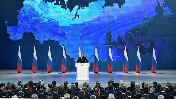 Putin,Thông điệp liên bang,Nga
