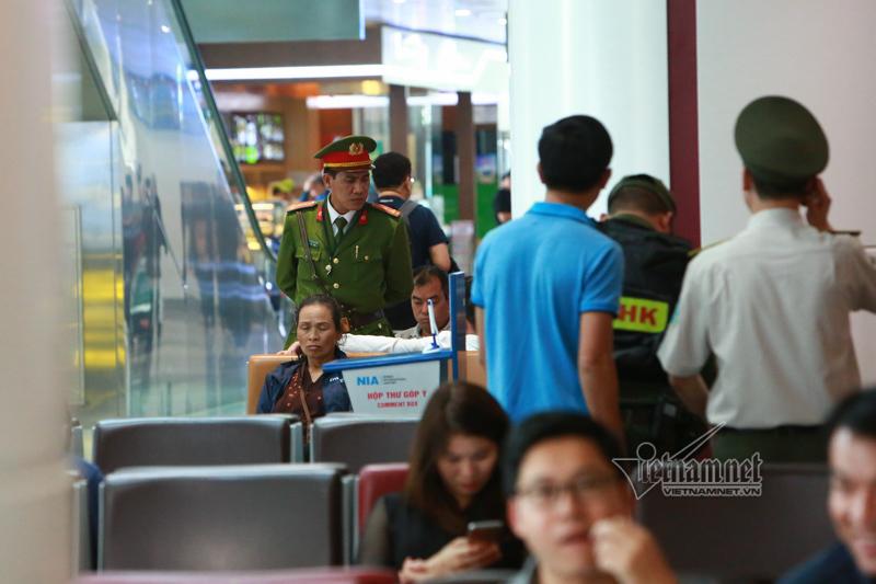 An ninh sân bay Nội Bài thắt chặt thế nào trước thượng đỉnh Mỹ-Triều?