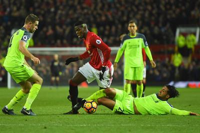 "Derby MU vs Liverpool: Pogba ""cân"" tất cả!"