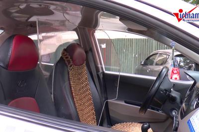 Vách ngăn chống cướp cứa cổ tài xế taxi gây sốt cộng đồng